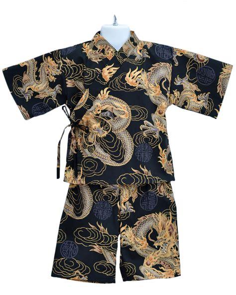 Piyama Japan kimono jinbei golden japanese pajamas