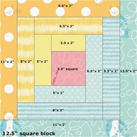 Log Cabin Quilt Block Tutorial by In The Scrapatch Here Quilt Tutorial