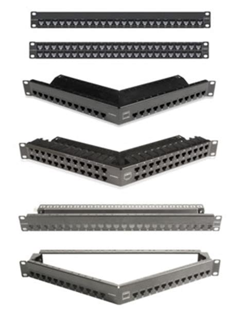 siemon visio stencils network patch panels category 5e 6 6a and 7 modular