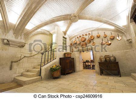 kasteel keuken chenonceaux kasteel keuken interieur aanzicht