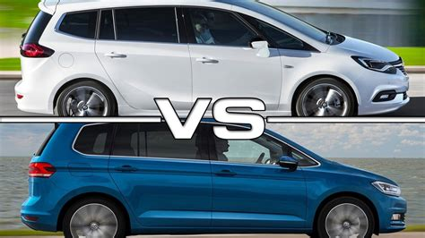opel volkswagen opel zafira vs vw touran youtube autos post