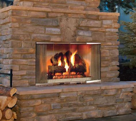 outdoor gas fireplace burner montana 42 quot stainless steel outdoor firebox s gas