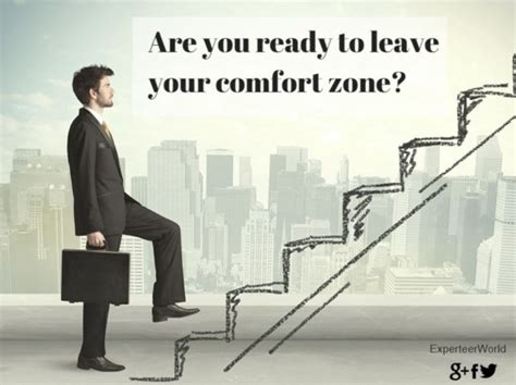 why leaving your comfort zone makes you work more