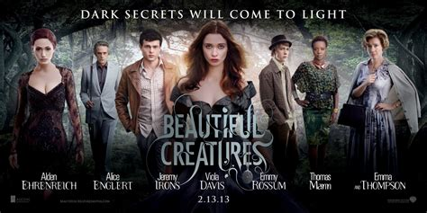 beautiful movies beautiful creatures trailer movie poster character