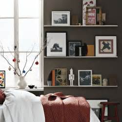 Bedroom Shelves Images Utilization Of Wall Shelves As A Versatile Display And