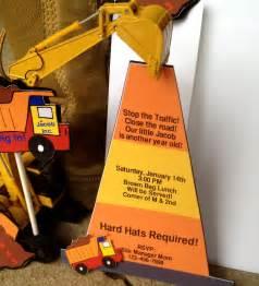 construction birthday party invitations by takeitpersonallybym