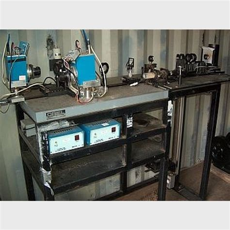 optical test bench used assay lab equipment photomultiplier optical test bench
