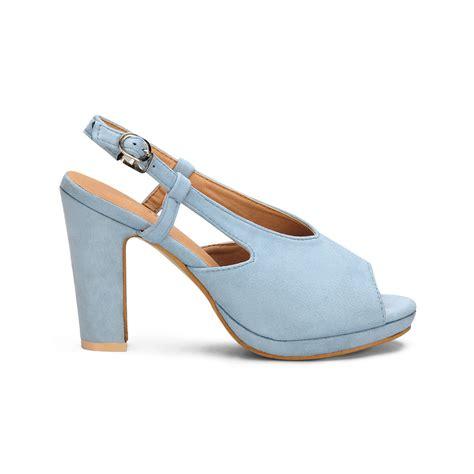 light blue block heels light blue peep toe block heel style sandals us