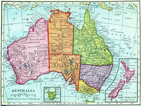 australin map mapping the changes in australian towns and borders now