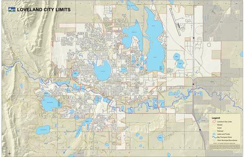 loveland colorado map loveland colorado maplets