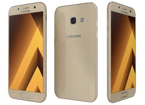 3 samsung galaxy a3 2017 samsung galaxy a3 2017 gold sand 3d cgtrader