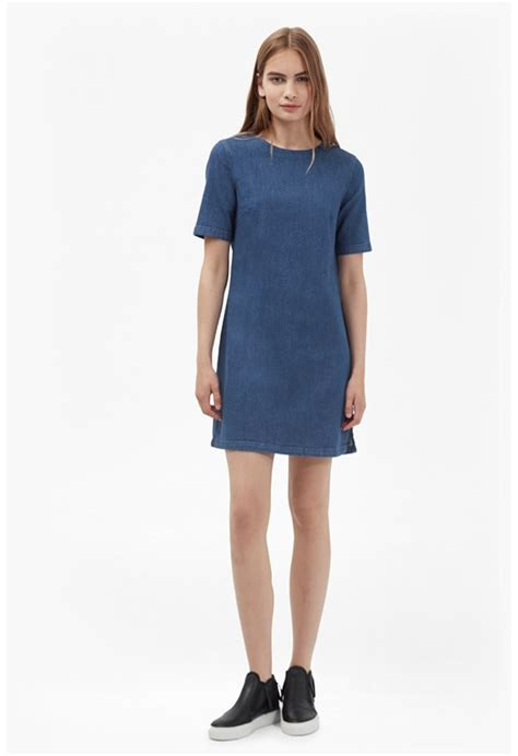 Cytk Tunic Ms Denim Light Blue s dresses sale sale dresses connection