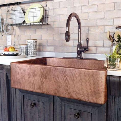 copper kitchen sink faucet 1000 ideas about copper taps on basin taps