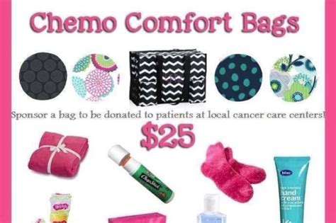 Chemo Comfort Bags By Lisa Cosentine Gofundme