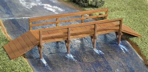 how to build a wooden bridge making a medieval wooden bridge
