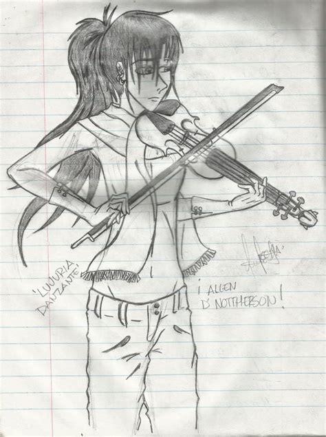 imagenes a lapiz de violines he renacido de entre las cenizas como un fenix dibujos