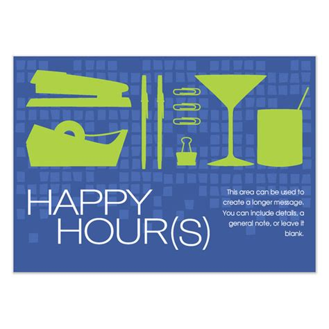 happy hour template happy hours invitations cards on pingg