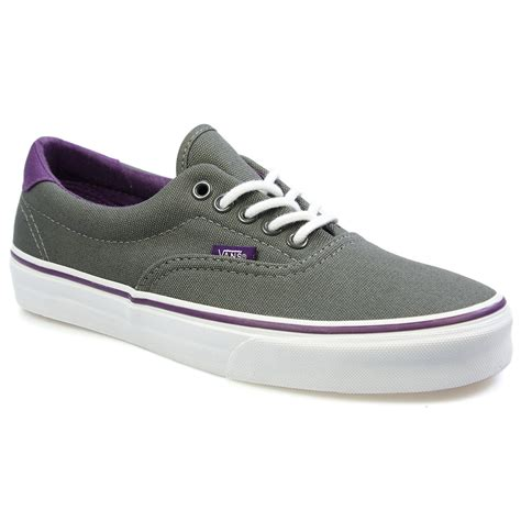 vans era purple vans era 59 pop charcoal grey and grape royal purple