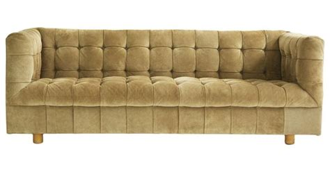 Suede Chesterfield Sofa Ward Tufted Suede Chesterfield Sofa For Brickel C1970 M 246 Bler M 246 Bler