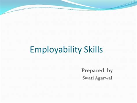 Soft Skills Topics For Mba Students by Employability Skills Soft Essential Skills For Employees