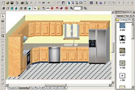 Free Kitchen Cabinet Design by Kitchen Cabinet Design Software Free Download