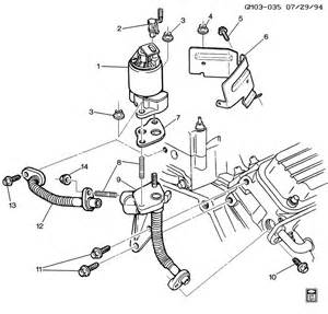 98 Buick Park Avenue Parts E G R Valve Related Parts