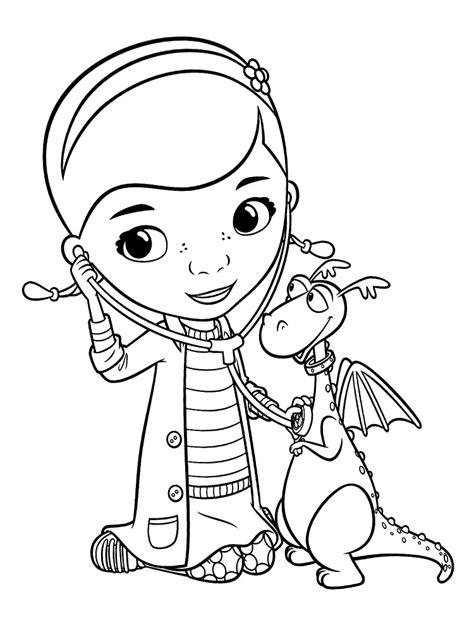 imagenes para colorear la doctora juguetes dibujos para colorear doctora juguetes para un