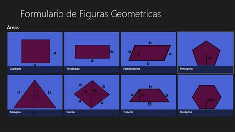 figuras geometricas formulario formulario de todas las figuras geometricas imagui