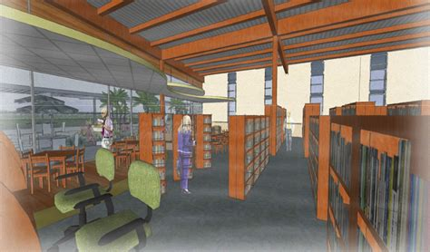 Library Interior Design Concept by Interior Of Gulf Gate Library Concept 06 26 12