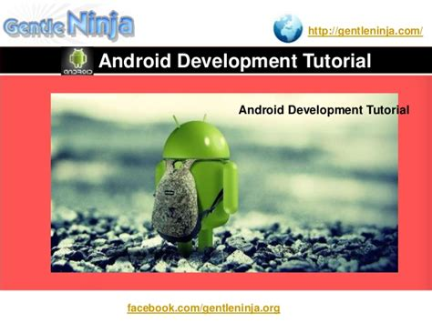 tutorial android for beginners android development tutorial for beginners