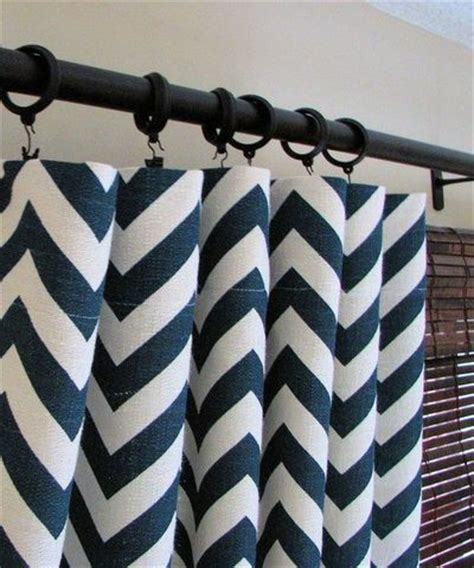 chevron navy curtains navy chevron curtains for the home juxtapost
