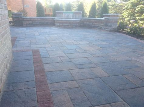 Where To Buy Unilock Pavers Unilock Brick Paver Beacon Hill Patio And Brussels Tumbled