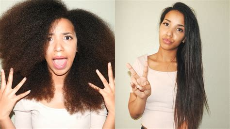 natural hairstyles for long straight hair straightening your natural hair a sign of insecurity