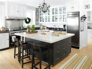 Kitchen Island With No Appliances Large Kitchen Island With Space For Barstools But No Sink