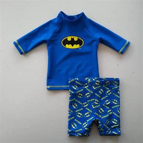 baby swimsuits 0 1y batman swimsuit boy beachwear bathing traje de bano