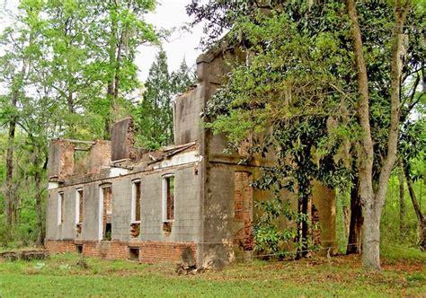 Planters In The South by Comingtee Plantation Ruins South Carolina Abandoned