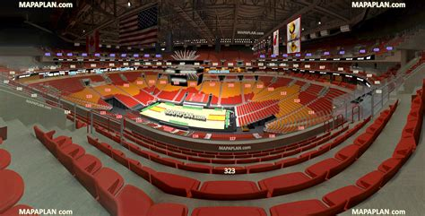 what is section 7 miami american airlines arena view from section 323