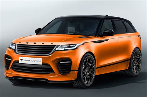 Home Interior Arch Designs by First Range Rover Velar Aftermarket Kit On Sale Now Autocar