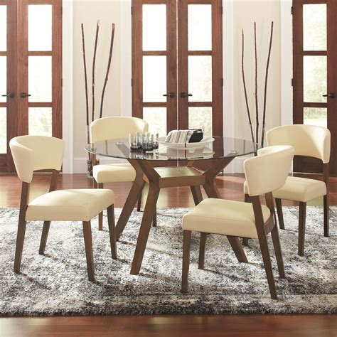 Micheals Furniture by Coaster Paxton 12218 5 Dining Table Set With