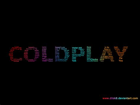 coldplay best coldplay color by diisk8 on deviantart