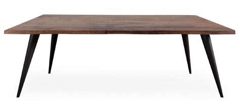 gambe tavolo metallo tavolo fisso in legno con gambe inclinate in metallo