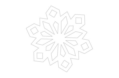 snowflake outline template blank snowflake template new calendar template site