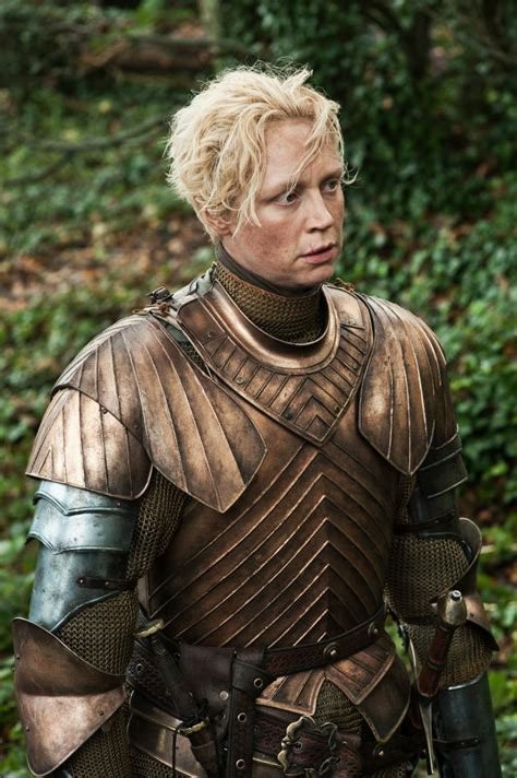 who is the lady in the game of war advert q a with gwendoline christie from game of thrones the