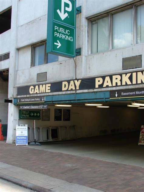 Stanwix Parking Garage by Stanwix Garage At 625 Stanwix St Pittsburgh Parking