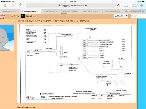 jayco wiring diagram caravan ideas