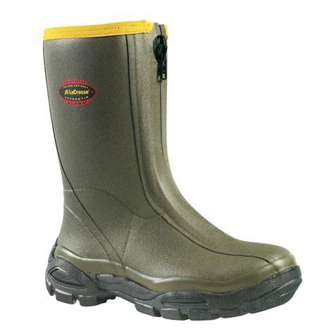 S Zipper Rubber Boots by S Lacrosse 174 12 Quot Waterproof Alphaburly 174 Sport Front Zip
