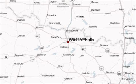 wichita falls map wichita falls location guide