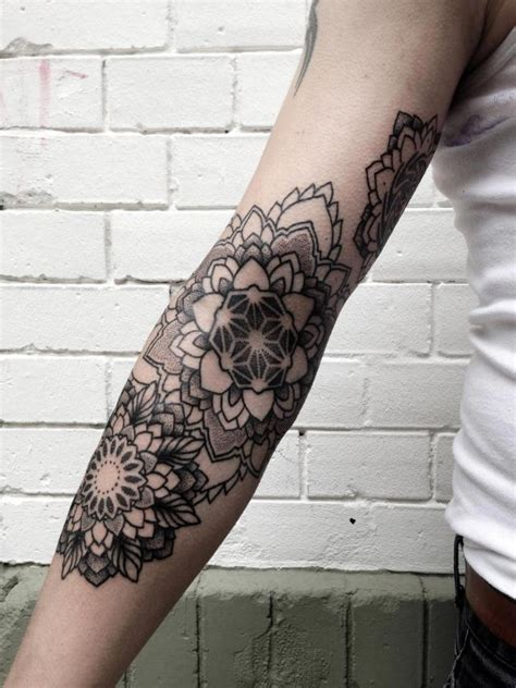 tattoo flower forearm arm female tattoos flower