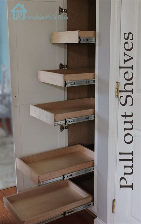 diy kitchen pantry cabinet plans 25 best ideas about pull out shelves on pinterest deep