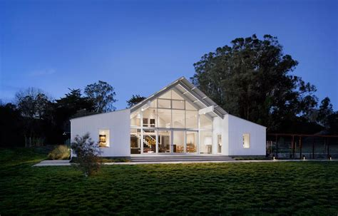 Barn Style Home by Mega Modern Leed Certified Barn Style House On 160 Acres